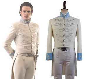 灰姑娘 2015 Film Prince Charming Kit Uniform Outfit Cosplay Costume