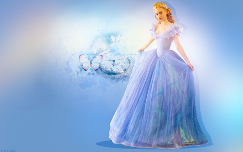 Princesses Disney fond d'écran probably containing a robe titled Cendrillon - 2015