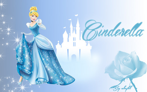 Disney Princess wallpaper probably with a bouquet titled Cinderella Wallpaper