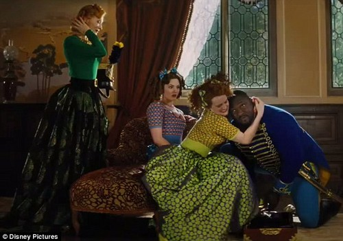 Cinderella (2015) images Cinderella's stepsisters trying ...