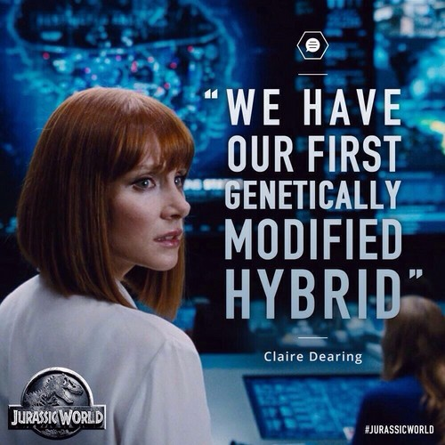 Jurassic World kertas dinding possibly containing a portrait called Claire Dearing Quote - Jurassic World