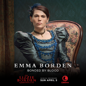 Clea Duvall as Emma Borden in The Lizzie Borden Chronicles