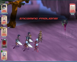 Code Lyoko Social Game Screenshots