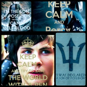 Collage Percy Jackson