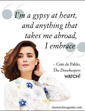 Cote de Pablo Quote