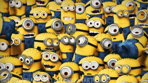 Crowd of FABULOUS MINIONS!!!