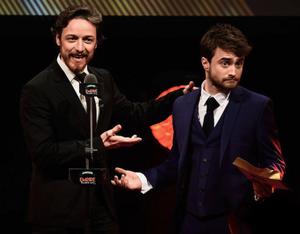 Daniel Radcliffe At Empire Awards 2015 (Fb.com/DanielJacobRadcliffeFanClub)