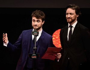 Daniel Radcliffe At Empire Awards 2015 (Fb.com/DanielJacobRadcliffeFanClub)