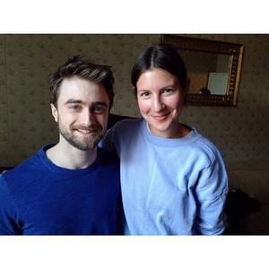 Daniel Radcliffe With a ファン (Fb.com/DanielJacobRadcliffeFanClub)
