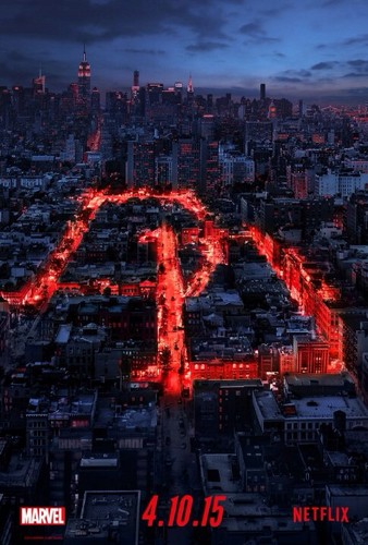 Daredevil (Netflix) 壁紙 probably containing a business district entitled Daredevil - Poster - DD