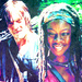 Daryl and Michonne