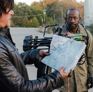Daryl and morgan