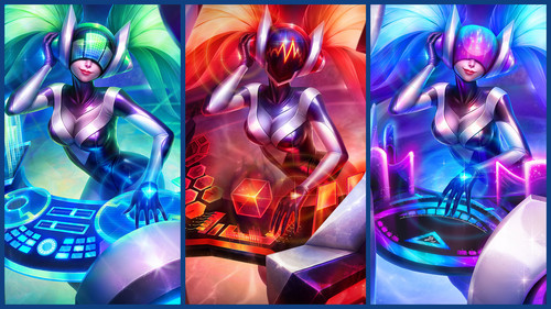 League Of Legends Wallpaper Entitled Dj Sona Ultimate Skin