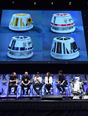 Droid Designs at The étoile, star Wars Celebration