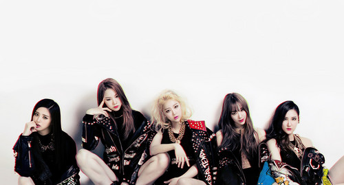 "EXID (이엑스아이디) fondo de pantalla titled EXID ""Ah Yeah"" concept foto"