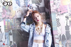 """EXID CONCEPT TEASERS FOR """"AH YEAH"""""""