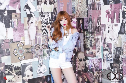 """EXID (이엑스아이디) 바탕화면 possibly with an outerwear, a hip boot, and a playsuit called EXID CONCEPT TEASERS FOR """"AH YEAH"""""""