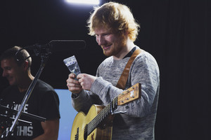 Ed Sheeran live at The Edge