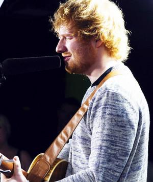 Ed Sheeran live at The Edge