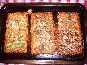 Ellio's pizza (Cooked)