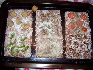 Ellio's pizza (Uncooked)
