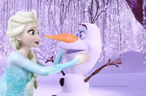 Frozen wallpaper containing a bouquet called Elsa and Olaf