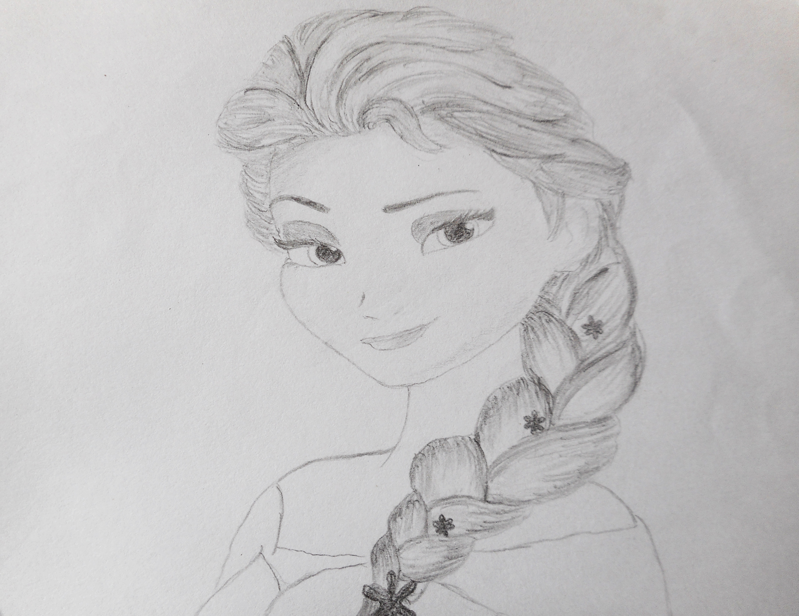 Elsa Drawing Disney Princess Photo 38320793 Fanpop Princess Elsa Drawing