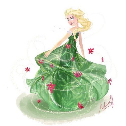 Frozen Fever Hintergrund called Elsa
