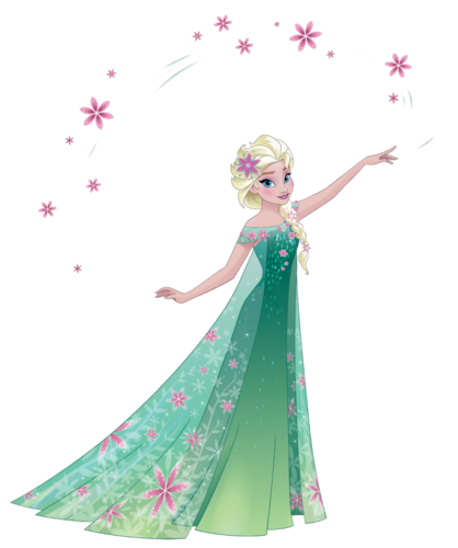 Frozen Fever Hintergrund possibly with a tepee and a bouquet entitled Elsa