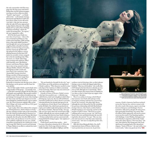 এমিলিয়া ক্লার্কে দেওয়ালপত্র called Emilia Clarke