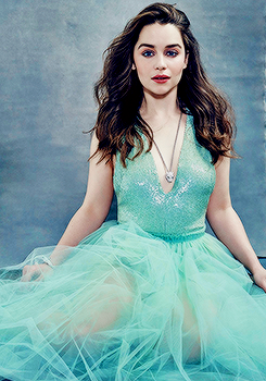 Emilia Clarke for The Hollywood Reporter (April 2015).