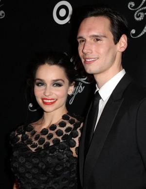 Emilia and her boyfriend