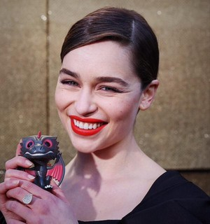 Emilia at the GoT Premiere