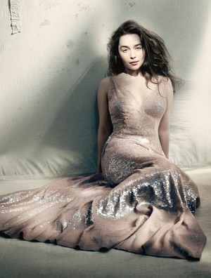 Emilia for Vogue Magazine