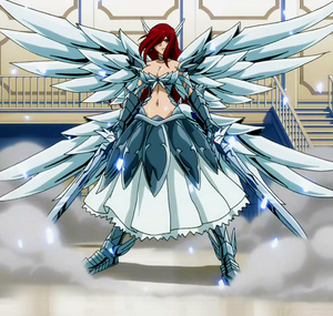 Erza !!! Isn't she just awesome ?