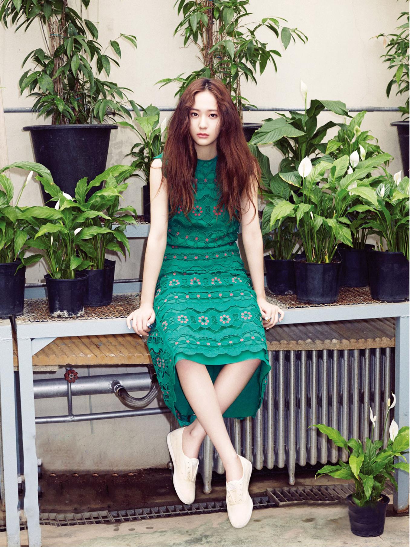에프엑스 Krystal for Vogue Girl May 2015