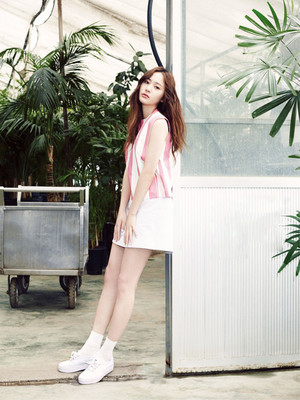 에프엑스 Krystal for Vogue Girl May 2015