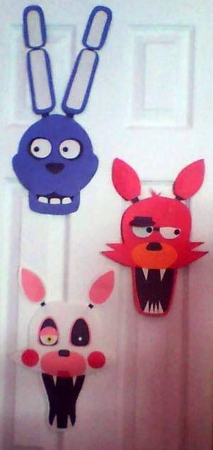 FNAF Paper...things. MADE por ME