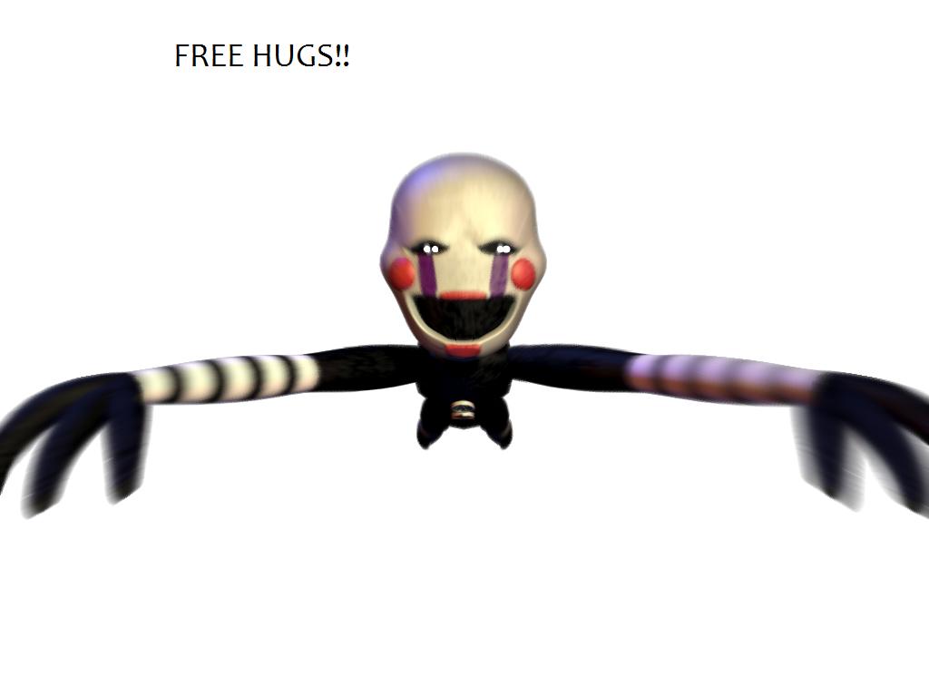 FREE HUGS Marionette