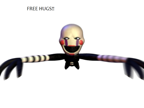 Five Nights at Freddy's 壁紙 entitled FREE HUGS Marionette