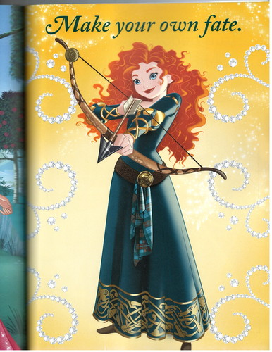 Merida wallpaper titled Fairy Tale Momments Poster Book