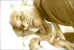Fast and Furious star,Vin Diesel and his newborn daughter,Pauline(named after Paul Walker)