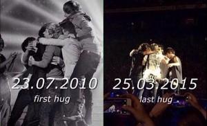 First and Last Hug