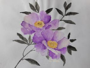 fleur drawing