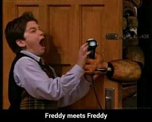 Freddy meets Freddy