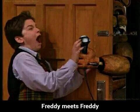 Freddy meets freddy five nights at freddy s photo 38356868