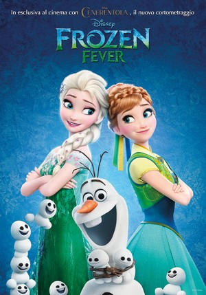 Frozen Fever Italian Poster