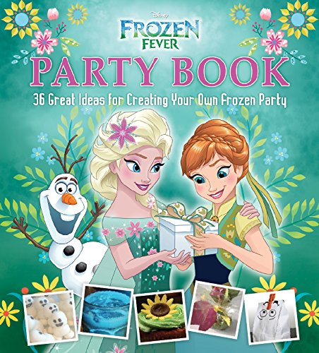 Frozen - Uma Aventura Congelante Fever Party Book