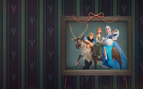 Frozen wallpaper titled Frozen Fever Wallpaper