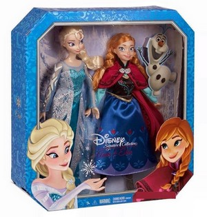 Frozen Signature Collection Elsa and Anna dolls